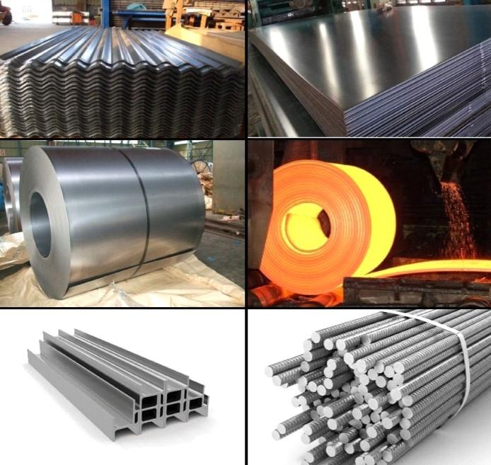 خرید و فروش انواع آهن آلات و محصولات فولادی