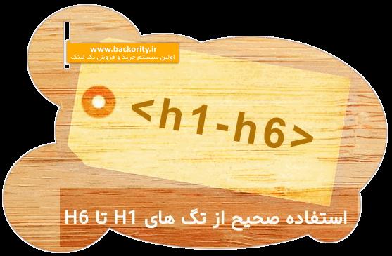 آموزش استفاده از تگ h1 الی h2 h3 h4 h5 h6