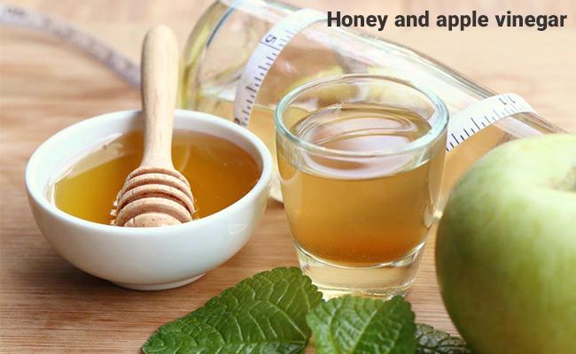 ترکیب عسل و سرکه سیب