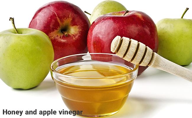 عسل و سرکه سیب